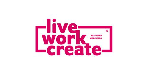 Live Work Create Logo